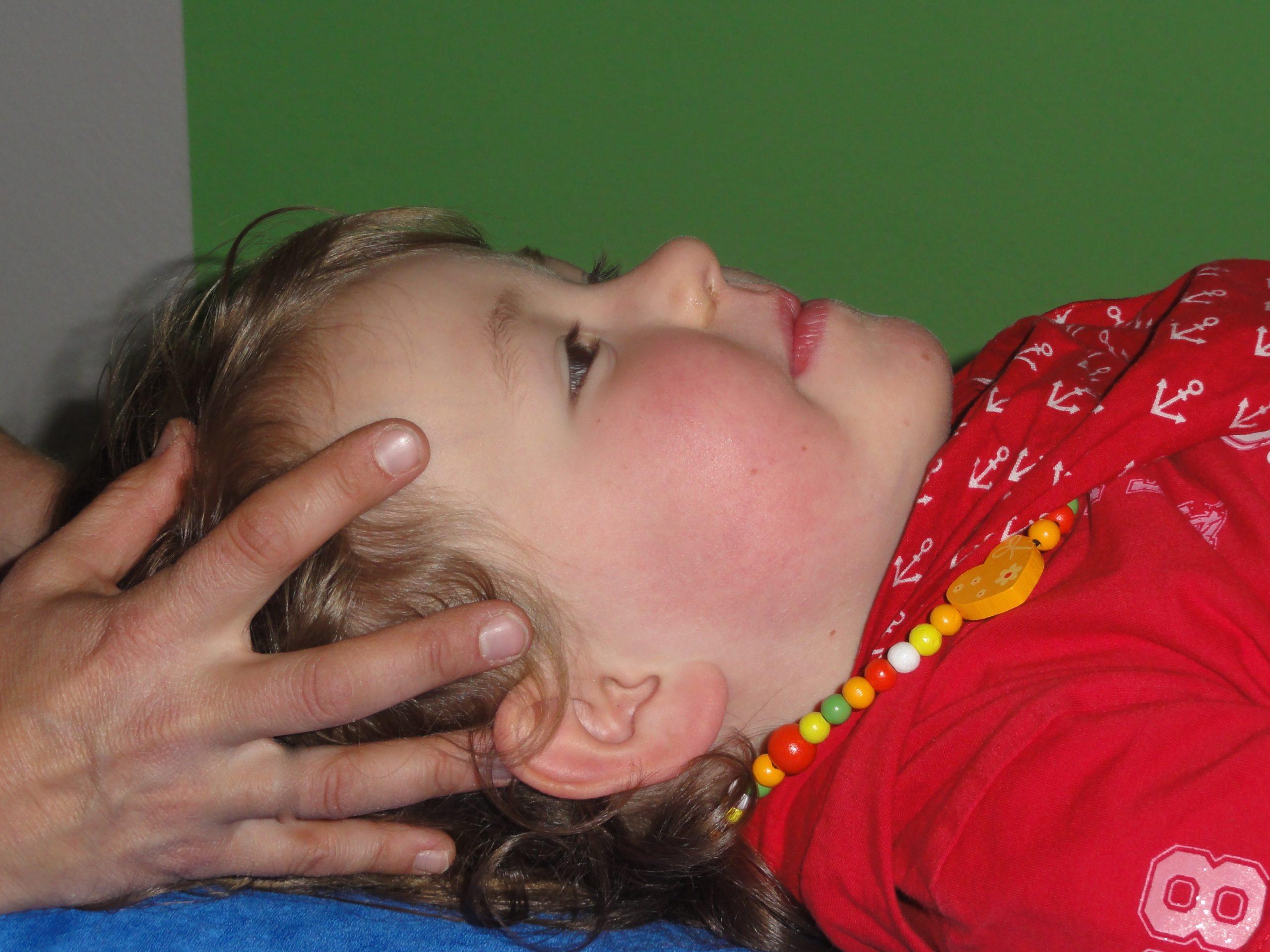 Cranio bei Babys und Kindern